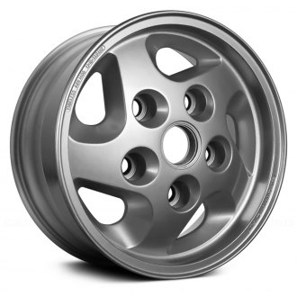 "Replace® - 16"" Remanufactured 5 Curved Spokes Silver Factory Alloy Wheel"