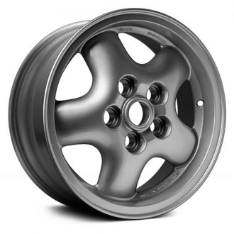 "Replace® - 16"" Remanufactured 5 Round Spokes Factory Alloy Wheel"