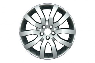 "Replace® ALY72196U20 - 20"" Remanufactured 10-Spoke All Painted Silver Factory Alloy Wheel"