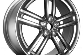 "Replace® ALY73687U78 - 19"" Remanufactured 5-Spoke Hyper Silver Factory Alloy Wheel"