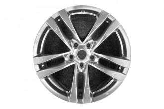 "Replace® ALY73702U78 - 18"" Remanufactured 5-Double-Spoke Bright Hyper Silver Factory Alloy Wheel"