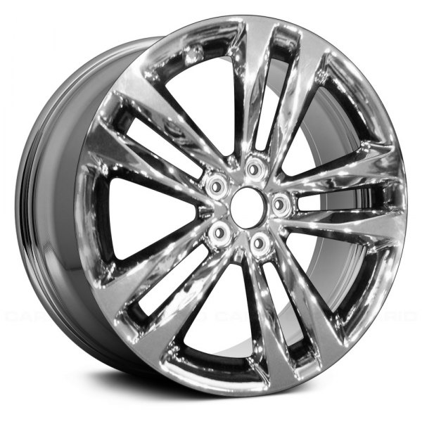"Replace® - 19"" Remanufactured 5 Double Spokes Light Pvd Chrome Factory Alloy Wheel"