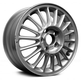 "Replace® - 15"" Remanufactured 16 Spokes Standard Finish Factory Alloy Wheel"