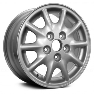 "Replace® - 15"" Remanufactured 10 Spokes Standard Finish Factory Alloy Wheel"