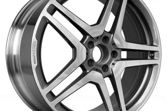 "Replace® - 20"" Remanufactured Rear 10 Spokes Polished Factory Alloy Wheel"