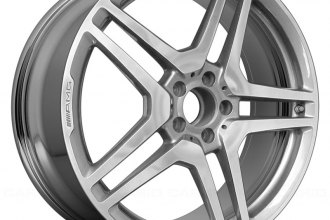 "Replace® - 20"" Remanufactured Rear 10 Spokes Aftermarket Chrome Factory Alloy Wheel"