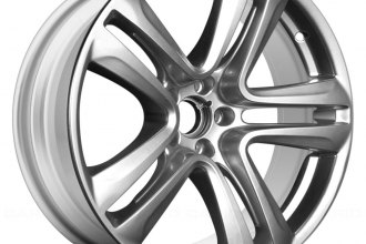 "Replace® - 20"" Remanufactured 5 Double Spokes All Painted Bright Silver Factory Alloy Wheel"