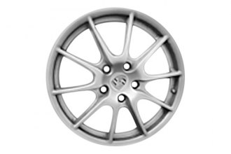 "Replace® - 19"" Remanufactured 10-Spoke White with Silver Outer Lip Factory Alloy Wheel"