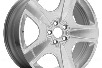 "Replace® - 19"" Remanufactured 5 Spokes Machined and Bright Sparkle Silver Factory Alloy Wheel"