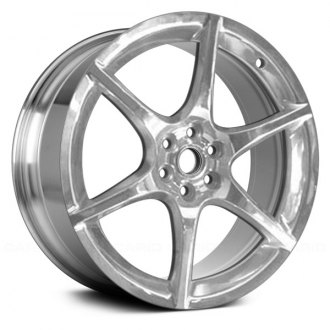"Replace® - 18"" Remanufactured 6 Spokes Polished Factory Alloy Wheel"