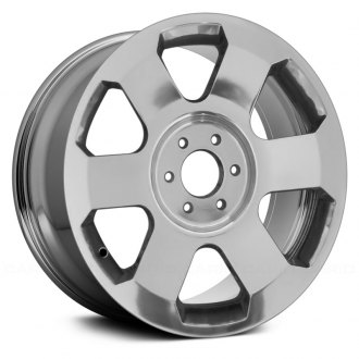 "Replace® - 20"" Remanufactured Front 6 Spokes Polished Factory Alloy Wheel"
