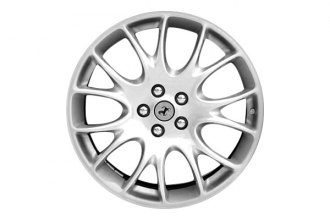 "Replace® - 20"" Remanufactured 14-Spoke All Painted Medium Sparkle Silver Factory Alloy Wheel"