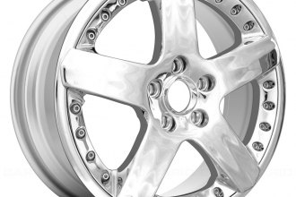 "Replace® - 19"" Remanufactured 5 Spokes All Painted Silver Factory Alloy Wheel"