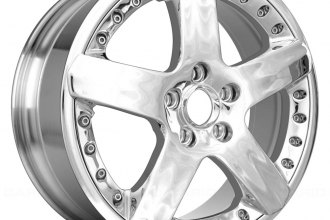 "Replace® - 19"" Remanufactured 5 Spokes Polished Factory Alloy Wheel"
