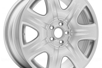"Replace® - 19"" Remanufactured 7 Spokes All Painted Bright Sparkle Silver Factory Alloy Wheel"