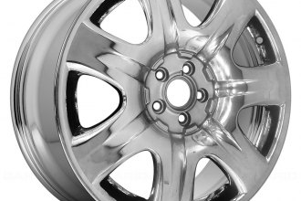"Replace® - 19"" Remanufactured 7 Spokes Aftermarket Chrome Factory Alloy Wheel"