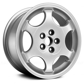 "Replace® - 17"" Remanufactured 6 Spokes Hyper Silver Factory Alloy Wheel"