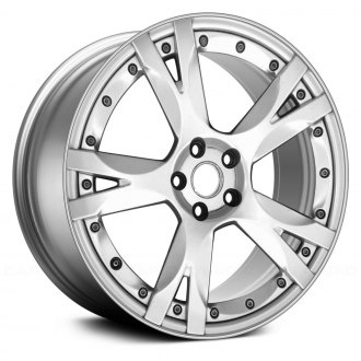 "Replace® - 19"" Remanufactured Front 5 Y Spokes Hyper Silver Factory Alloy Wheel"