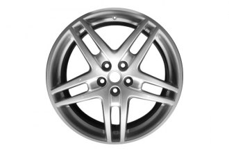 "Replace® - 19"" Remanufactured 5-Double-Spoke Bright Sparkle Silver Factory Alloy Wheel"