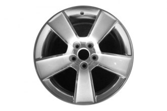 "Replace® - 18"" Remanufactured 5-Spoke Bright Polished Factory Alloy Wheel"
