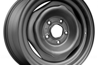 "Replace® - 14"" Remanufactured Medium Gray Factory Steel Wheel"