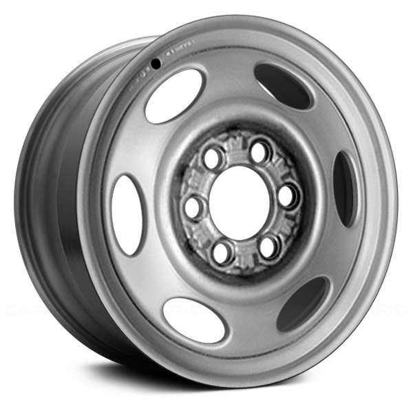 "Dodge Dakota 2000 Remanufactured Complete: 15"" Remanufactured 6 Slots Silver"