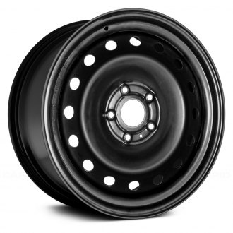 "Replace® - 20"" Remanufactured Black Factory Steel Wheel"