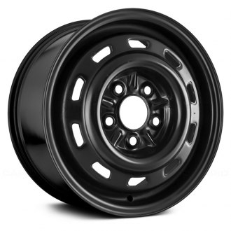 "Replace® - 14"" Replica Black Factory Replica Steel Wheel"