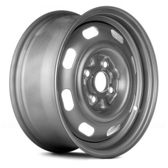 "Replace® - 14"" Remanufactured 8 Oval Holes Factory Steel Wheel"