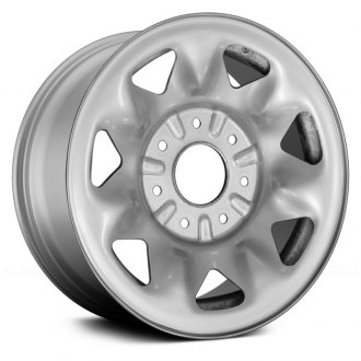 "Replace® - 16"" Remanufactured 7-Triangular-Holes Factory Steel Wheel"