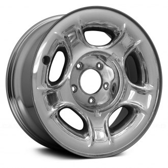 "Replace® - 17"" Remanufactured Chrome Factory Steel Wheel"