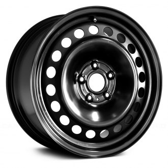 replace 17 remanufactured 20 holes black factory steel wheel