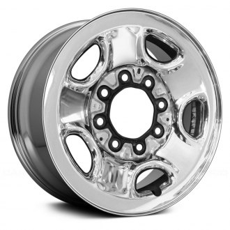 "Replace® - 16"" Remanufactured 5-Holes Chrome Factory Steel Wheel"