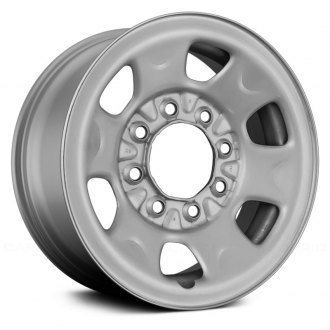 "Replace® - 16"" Remanufactured 6 Spokes Silver Factory Steel Wheel"