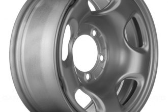"Replace® - 16"" Remanufactured Silver Factory Steel Wheel"