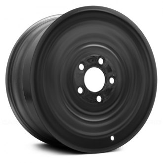 "Replace® - 16"" Remanufactured Black Factory Steel Wheel"