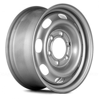 "Replace® - 15"" Replica 8 Vents Silver Factory Steel Wheel"