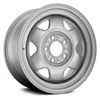 "Replace® - 15"" Remanufactured 6 Spokes Factory Steel Wheel"