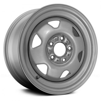 "Replace® - 15"" Remanufactured 6 Spokes Silver Factory Steel Wheel"