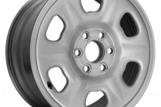"Replace® - 15"" Remanufactured Silver Factory Steel Wheel"