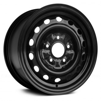 "Replace® - 14"" Remanufactured 14-Holes Black Factory Steel Wheel"