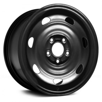 "Replace STL64920U45 - 16"" Remanufactured 7-Holes Black Factory Steel Wheel"