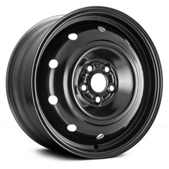 "Replace® - 16"" Replica 10-Holes Black Factory Replica Steel Wheel"