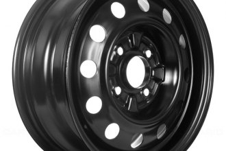"Replace® - 15"" Replica Black Factory Replica Steel Wheel"