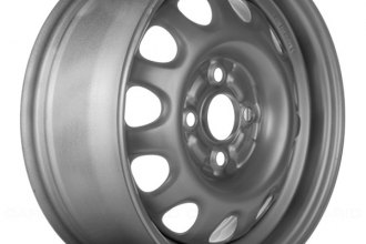 "Replace® - 14"" Remanufactured 8-Holes Silver Factory Steel Wheel"