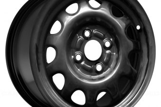 "Replace® - 14"" Remanufactured 8-Holes Black Factory Steel Wheel"