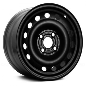 "Replace® - 14"" Remanufactured 15 Holes Black Factory Steel Wheel"