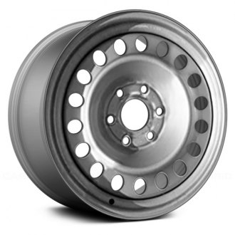 "Replace® - 18"" Remanufactured Silver Factory Steel Wheel"