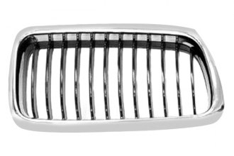 Replace® BM1200131 - Right Grille (Black)