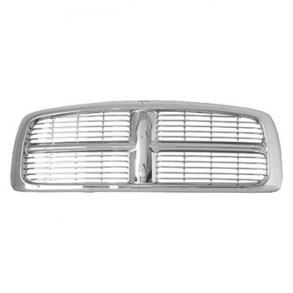 Replace® - Grille (Chrome, with With Painted Bars)